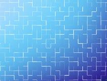 Blauwe abstracte achtergrond Royalty-vrije Stock Foto's