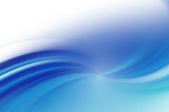 Blauwe abstracte achtergrond. Royalty-vrije Stock Afbeelding