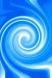 Blauwe abstracte achtergrond Stock Afbeelding