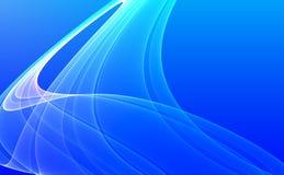 Blauwe abstracte achtergrond Royalty-vrije Stock Afbeelding