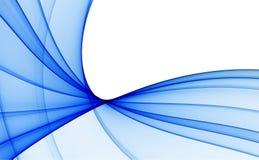Blauwe abstracte achtergrond Royalty-vrije Stock Fotografie