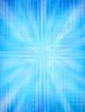 Blauwe Abstracte Achtergrond vector illustratie