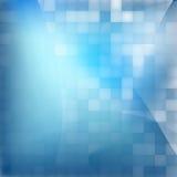 Blauwe abstracte achtergrond.  + EPS10 Royalty-vrije Stock Afbeeldingen
