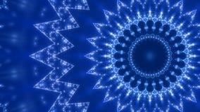 Blauwe abstracte achtergrond, lijn royalty-vrije illustratie