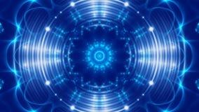 Blauwe abstracte achtergrond, lijn vector illustratie