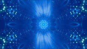 Blauwe abstracte achtergrond, lijn stock videobeelden