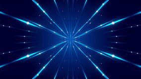 Blauwe abstracte achtergrond, lijn stock video