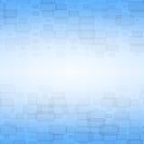 Blauwe abstracte achtergrond met bakstenen Royalty-vrije Stock Fotografie