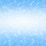 Blauwe abstracte achtergrond met cirkels Stock Afbeelding