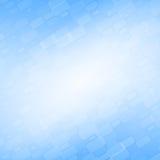 Blauwe abstracte achtergrond met diagonale bakstenen Royalty-vrije Stock Afbeeldingen