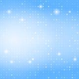 Blauwe abstracte achtergrond met kleine vierkanten Stock Foto's