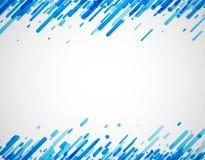 Blauwe abstracte achtergrond op wit Royalty-vrije Stock Afbeelding