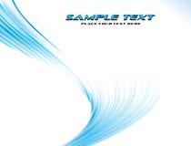 Blauwe abstracte achtergrond. Vector Stock Foto's
