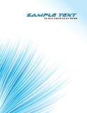 Blauwe abstracte achtergrond. Vector Royalty-vrije Stock Afbeelding