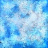 Blauwe abstracte artistieke pastelkleurachtergrond Royalty-vrije Stock Afbeeldingen