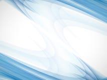 Blauwe abstracte bedrijfsachtergrond Stock Afbeelding