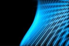 Blauwe abstracte behangachtergrond Royalty-vrije Stock Afbeelding
