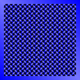 Blauwe Abstracte de Technologieachtergrond van het Draadnetwerk Royalty-vrije Stock Fotografie