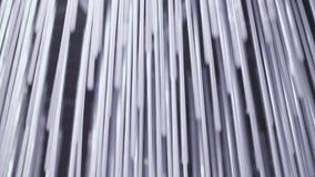 Blauwe abstracte deeltjes stock footage