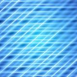 Blauwe abstracte digitale achtergrond Stock Afbeelding
