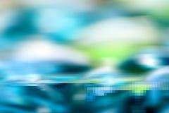 Blauwe abstracte digitale achtergrond. Royalty-vrije Stock Foto