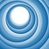 Blauwe abstracte digitale wabe Stock Afbeelding