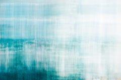 Blauwe abstracte geweven achtergrond Stock Afbeeldingen