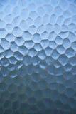 Blauwe abstracte het ontwerptextuur van het glas. Stock Foto's