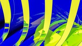 Blauwe abstracte illustratie als achtergrond Royalty-vrije Stock Fotografie