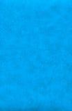 Blauwe abstracte leertextuur Stock Fotografie