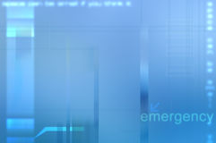 Blauwe abstracte medische achtergrond. Royalty-vrije Stock Foto