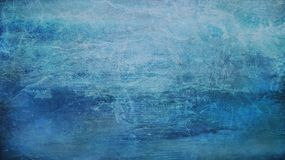 Blauwe abstracte oude achtergrond royalty-vrije stock afbeelding