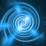 Blauwe abstracte samenstelling Royalty-vrije Stock Afbeeldingen