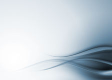 Blauwe abstracte samenstelling Royalty-vrije Stock Fotografie