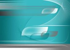 Blauwe abstracte samenstelling als achtergrond Stock Afbeelding