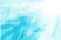 Blauwe abstracte technologieachtergrond. Royalty-vrije Stock Afbeeldingen