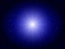 Blauwe abstracte technologieachtergrond Stock Afbeelding