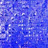 Blauwe Abstracte Textuur Royalty-vrije Stock Afbeeldingen
