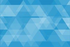 Blauwe Abstracte Vectoren Als achtergrond Royalty-vrije Stock Foto