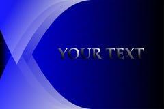 Blauwe Abstracte Veelhoektextuur Stock Afbeelding