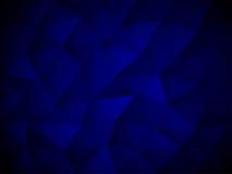 Blauwe Abstracte Veelhoektextuur Stock Fotografie