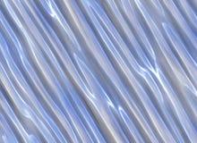 Blauwe abstracte vloeibare plastic textuur. geschilderde achtergronden Royalty-vrije Stock Fotografie