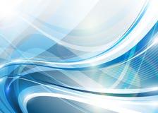 Blauwe abstractie Stock Afbeeldingen