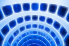 Blauwe abstractie Stock Fotografie
