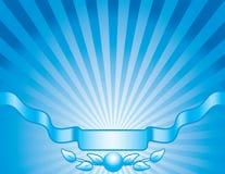Blauwe achtergrond Stock Afbeeldingen