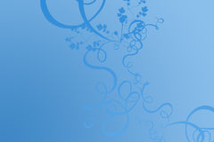 Blauwe achtergrond Stock Foto's