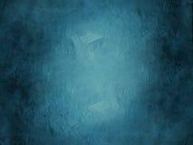 Blauwe Achtergrond Grunge Stock Afbeelding
