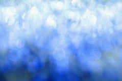 Glanzende blauwe achtergrond royalty-vrije stock foto