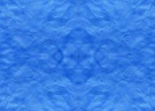 Blauwe achtergrond met vingerafdrukken Stock Fotografie