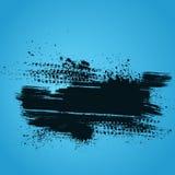 De blauwe achtergrond van het bandspoor Stock Foto's